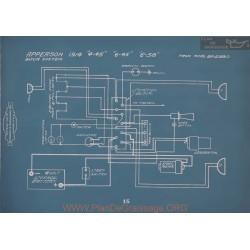 Apperson 4 45 6 45 658 Schema Electrique 1914