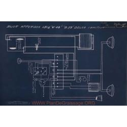 Apperson 6 46 8 58 Delco Schema Electrique 1916