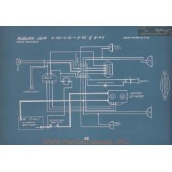 Auburn 4 40 4 41 6 45 6 46 Schema Electrique 1914 V2