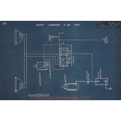 Auburn 6 39 Schema Electrique 1917 V2