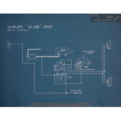 Auburn 6 39 Schema Electrique 1917