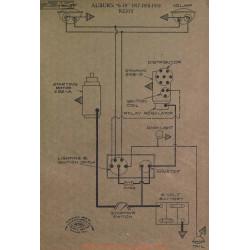 Auburn 6 39 Schema Electrqie 1917 1918 1919 Remy