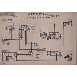 Bour Davis 20 6volt Schema Electrique 1920 Remy V2