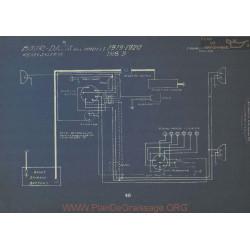 Bour Davis B Schema Electrique 1918 1919 1920 Remy
