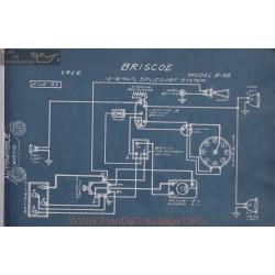 Briscoe 12volt 6volt 8 38 Schema Electrique 1916 Splitdorf