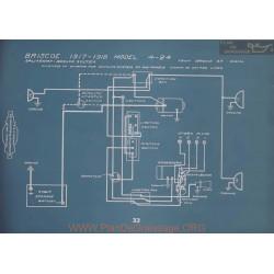 Briscoe 4 24 Schema Electrique 1917 1918