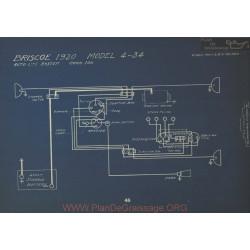 Briscoe 4 34 Schema Electrique 1920 Autolite