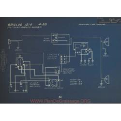 Briscoe 4 38 Schema Electrique 1916 Splitdorf Apelco