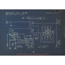 Briscoe 8 38 Schema Electrique 1916 Splitdorf Apelco