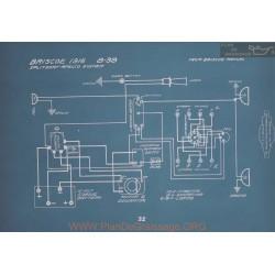 Briscoe 8 38 Schema Electrique 1916 V2