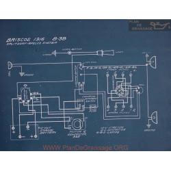 Briscoe 8 38 Schema Electrique 1916