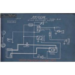 Briscoe B15 12volt Schema Electrique 1915 Splitdorf