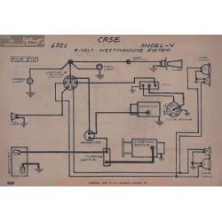 Brook V 6volt Schema Electrique 1921 Westinghouse