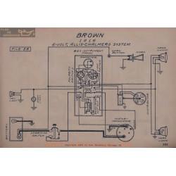 Brown 6volt Schema Electrique 1916 Allis Chalmers V2