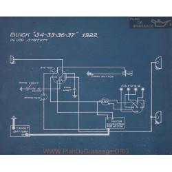 Buick 34 35 36 37 Schema Electrique 1922