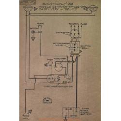 Buick 4cyl E34 E35 Schema Electrique 1918 Delco