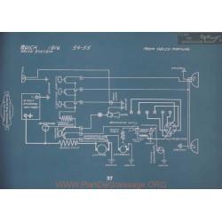 Buick 54 55 Schema Electrique 1916 V2
