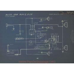 Buick B24 B25 Schema Electrique 1914 Delco