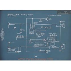 Buick B24 B25 Schema Electrique 1914 V2
