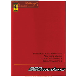 Ferrari 360 Modena Workshop Manual Vol 2