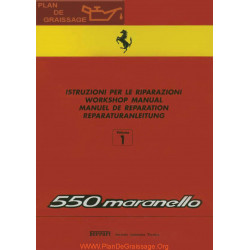 Ferrari 550 Maranello Workshop Manual Volume 1