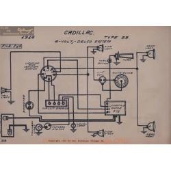 Cadillac 53 6volr Schema Electrique 1916 Delco