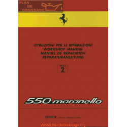 Ferrari 550 Maranello Workshop Manual Volume 2