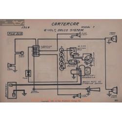 Cartercar 7 6volt Schema Electrique 1914 Delco