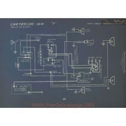 Cartercar 7 Schema Electrique 1914 Delco