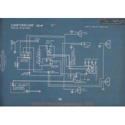 Cartercar 7 Schema Electrique 1914 V2