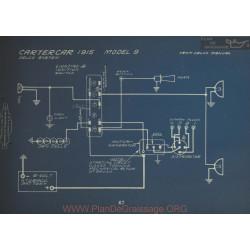 Cartercar 9 Schema Electrique 1915 Delco