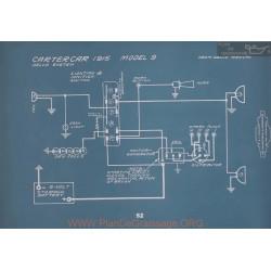 Cartercar 9 Schema Electrique 1915 V2