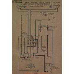 Chalmers 1000b Specials Schema Electrique 1918 1919 Westnghouse