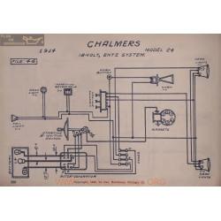 Chalmers 24 18volt Schema 1914 Entz