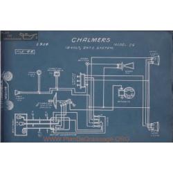 Chalmers 24 18volt Schema Electrique 1914 Entz