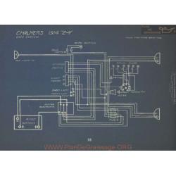 Chalmers 24 Schema Electrique 1914 Entz