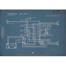 Chalmers 24 Schema Electrique 1914 V2