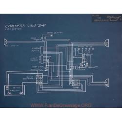 Chalmers 24 Schema Electrique 1914