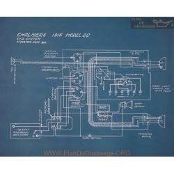 Chalmers 26 Schema Electrique 1915