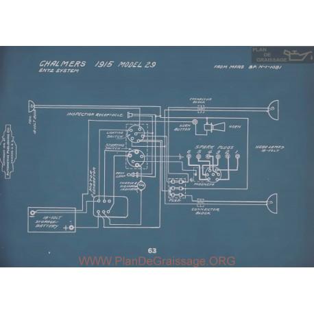 Chalmers 29 Schema Electrique 1915 V2