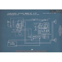 Chalmers 32 6 40 Schema Electrique 1915 1916 V2