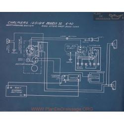 Chalmers 32 6 40 Schema Electrique 1915 1916