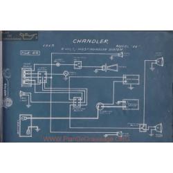 Chandler 14 6volt Schema Electrique 1913 Westinghouse