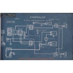 Chandler 15 6volt Schema Electrique 1914 Westinghouse
