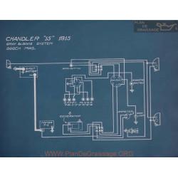 Chandler 15 Schema Electrique 1915