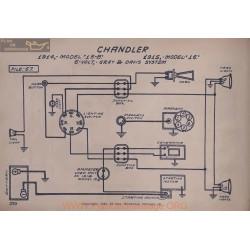 Chandler 15b 16 6volt Schema Electrique 1914 1915 Gray & Davis V2