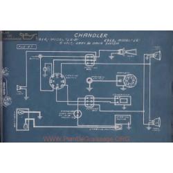 Chandler 15b 16 6volt Schema Electrique 1914 1915 Gray & Davis