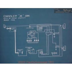 Chandler 16 Schema Electrique 1916