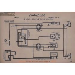 Chandler 17 6volt Schema Electrique 1916 Gray & Davis