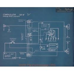 Chandler 17 Schema Electrique 1916